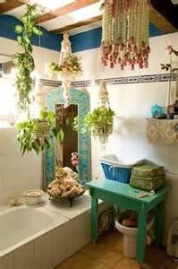 Bohemian Style Bathroom