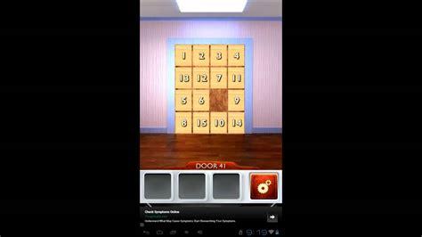 100 doors 2 levels 41 50 youtube 100 doors 2 level 41 walkthrough cheats youtube