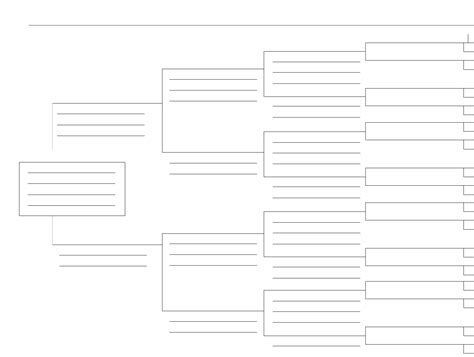ancestor tree template 5 generation family tree template for free tidyform