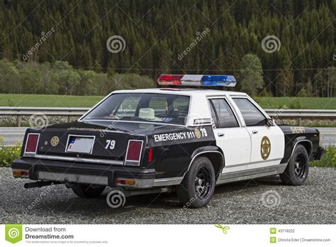 american police old police car stock photo image of enforcement vehicle