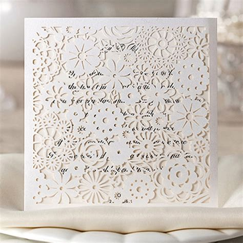 Decorative Printing Paper by Decorative Paper White Flowers Lacer Cut Wedding