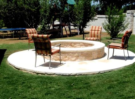 firepit landscaping pit tx photo gallery landscaping network
