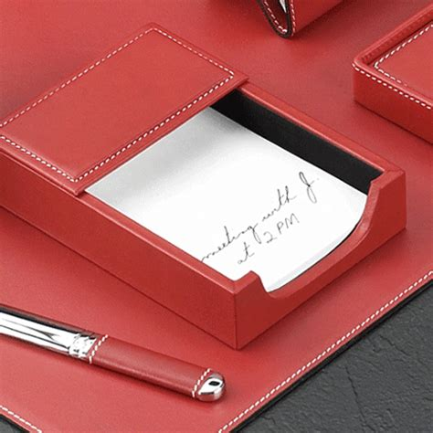 red leather desk pad red leather desk pad set red leather desk collection