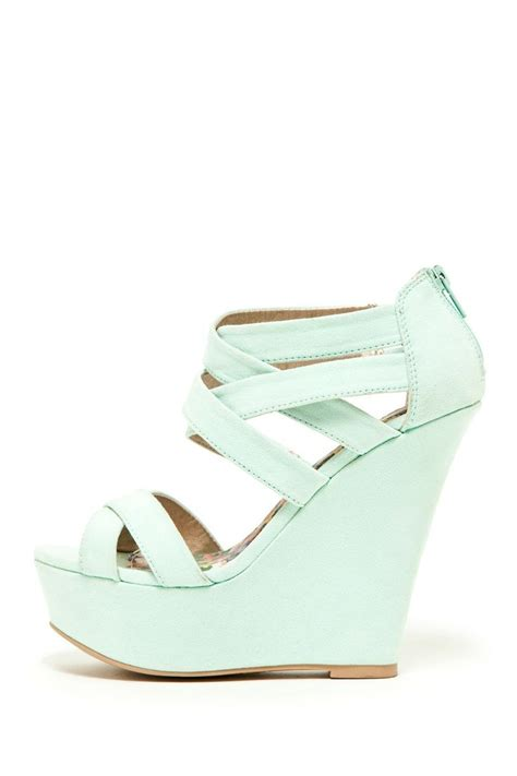 ft clothing mint wedges