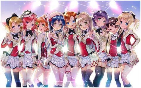 wallpaper girl school anime school girls hd wallpaper 9hd wallpapers