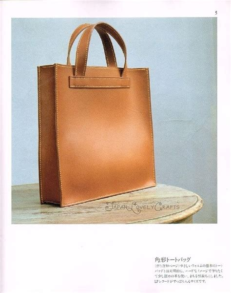 Tas Burberry Mini sewn leather bag patterns kuniko notani japanese sewing pattern book for simple tote bag