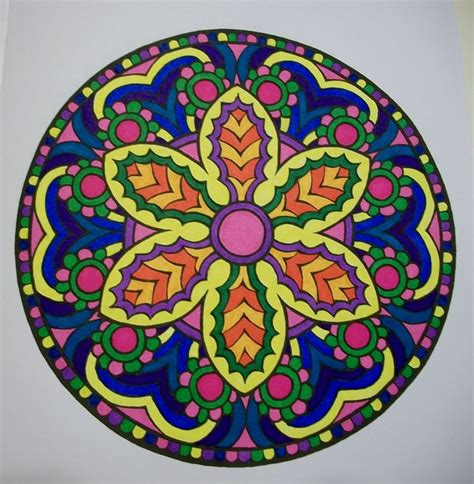 mandala coloring book with markers 109 best coloring images on colouring