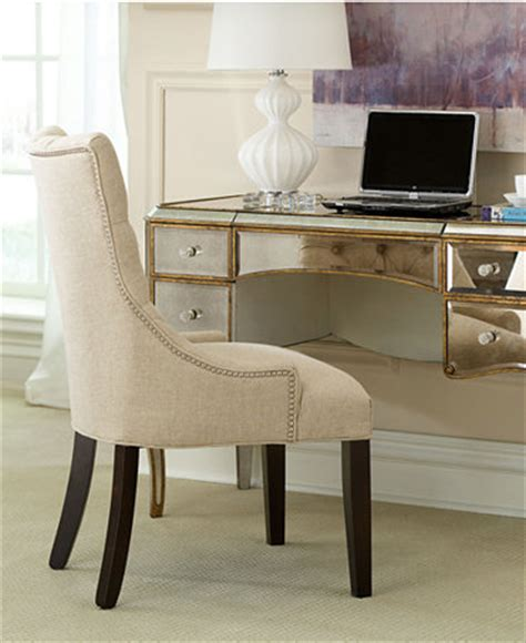 Home Office Desk Macy S Home Office Desk Cabriole Mirrored Writing Desk