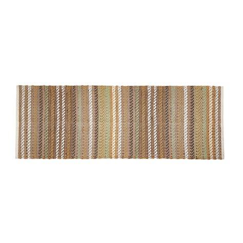tappeto juta tappeto cucina cotone e juta a righe coincasa