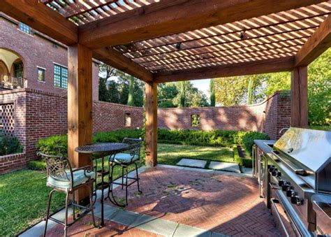 Shade Structures For Backyards by Backyard Wooden Shade Structures Outdoor Furniture