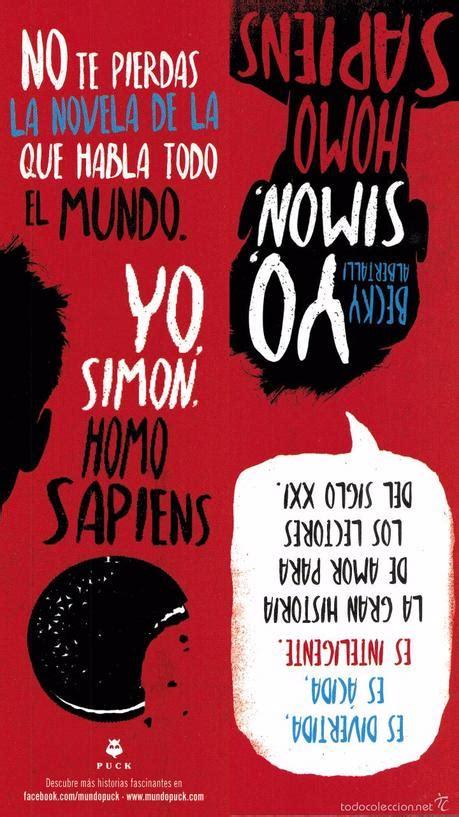libro yo simon 16 anos review 26 yo simon homo sapiens paperblog