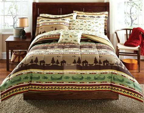 themed bedding sets total fab rustic lodge log cabin themed bedding sets