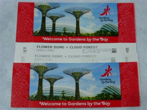 Gardens By The Bay Admission E Ticket garden by the bay cheap ticket discount singapore p36546