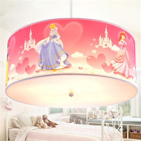 Anti Fire Cloth Children Bedroom Light Fixture Ceiling Princess Light Fixture