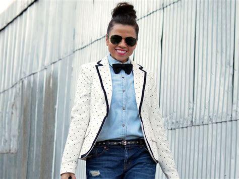 8 Ways To Wear Bows by روش هایی شیک و فشن برای استفاده از پاپیون بانوی شهر