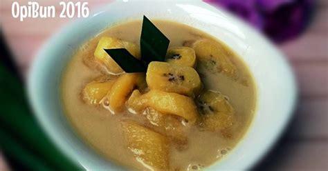 kolak pisang simple resep resep pisang  resep masakan