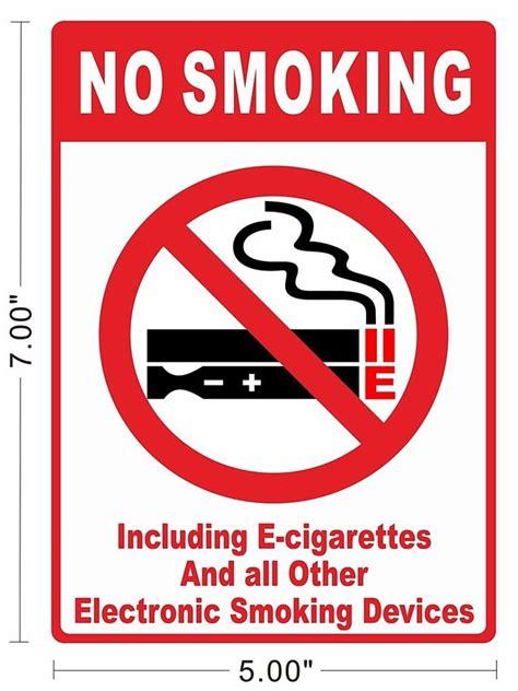 no smoking sign history vapor evod e cigarettes no smoking sign store notice