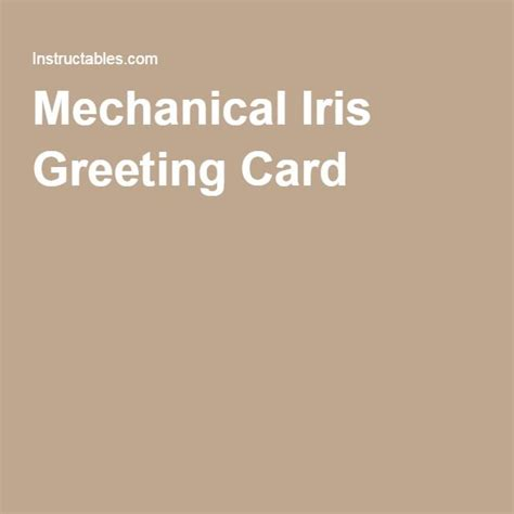 Mechanical Iris Card Template by 44 Best Images About Mechanical N Interactive Cards On