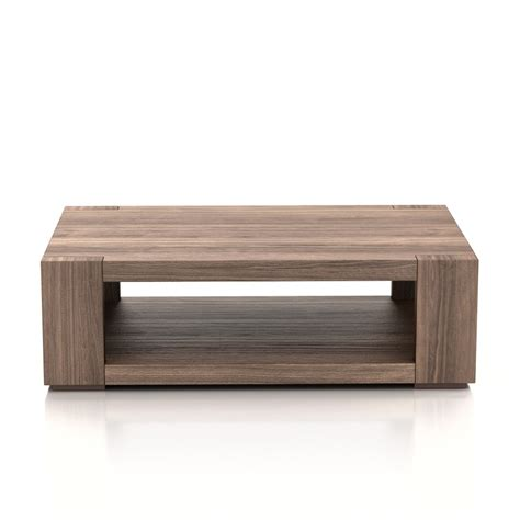 3d crate and barell lodge coffee table high quality 3d