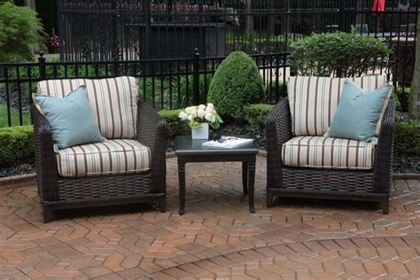 Luxury Patio Furniture Cassini Collection All Weather Wicker Luxury Patio