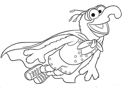 fun coloring pages the muppets coloring pages