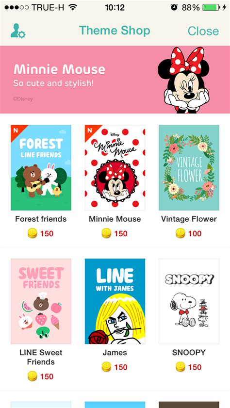 theme line forest friend cm hacked new line theme 07 10 2014 line forest friends