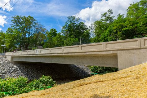 barrett township home construction for route 390 bridge over mill creek in