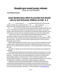 press release template for event 4 best images of press release exles sle press