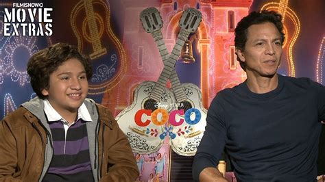 movies out now coco by anthony gonzalez coco 2017 benjamin bratt anthony gonzalez talk about their experience making the movie youtube
