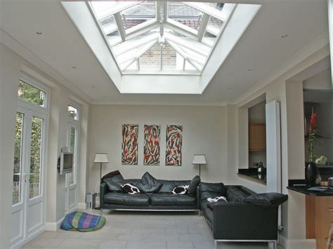 living room roof lights family room roof lantern style skylights contemporary living room baltimore by