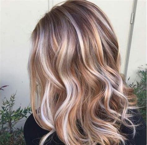 caramel lowlights blonde hair pinterest the world s catalog of ideas