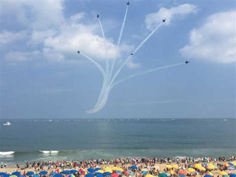 ocean scow oc air show june 18 19 2016 ocean city md oc air show