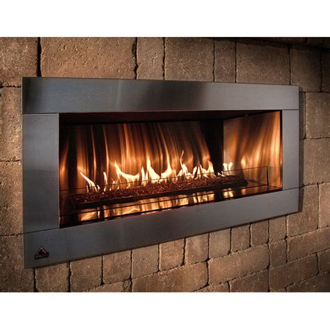 Gas Fireplace Kit Contemporary Stone Outdoor Gas Fireplace Kit