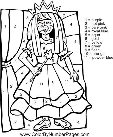 princess coloring pages by numbers coloring pages color by number coloring pages color by