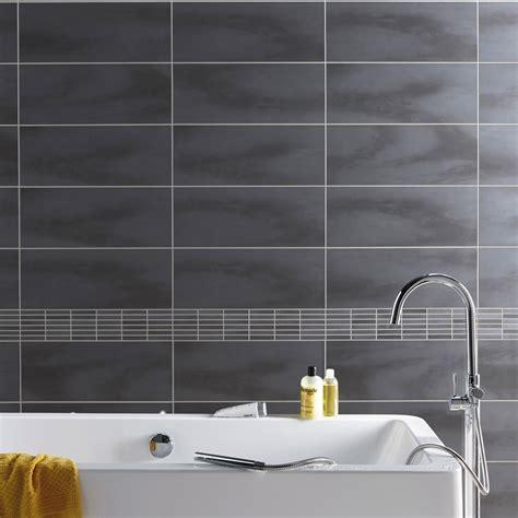 faience murale cuisine leroy merlin fa 239 ence mur anthracite l 20 x l 50 cm leroy merlin