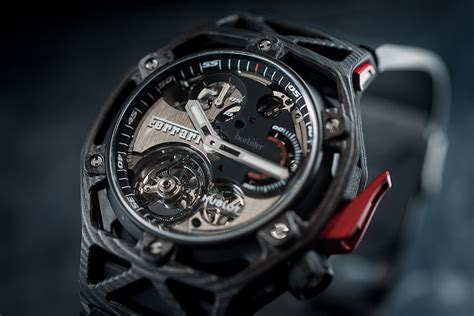 Hublot Ferrari by Hublot Techframe Ferrari 70 Years Tourbillon Chronograph