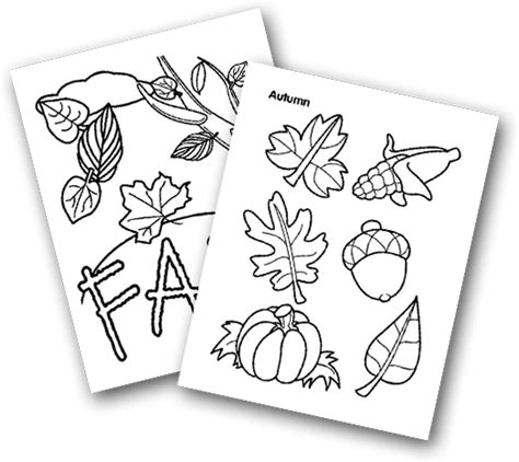 Crayola Coloring Pages Fall