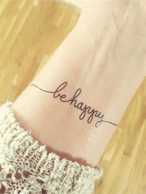 be happy tattoo best 25 happy ideas on wildflower