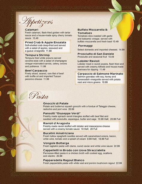 hot hot restaurant menu hot upscale bistro restaurant menu menubuilder