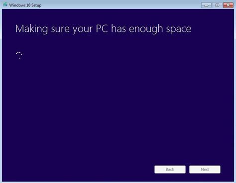 install windows 10 not enough space know how to install windows 10 without windows update