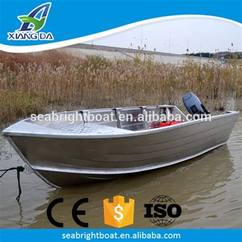 aluminum boats prices ce approved china all welded aluminum duck boat with