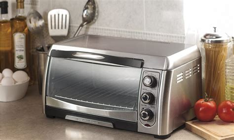 Hamilton Beach Roll Top Toaster Oven Full Size Of In