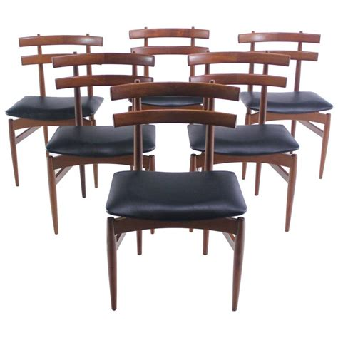 danish modern dining room chairs alliancemv com set of six rare danish modern chairs designed by poul