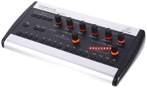 Katalog Mixer Behringer behringer powerplay p16 m personal mixer