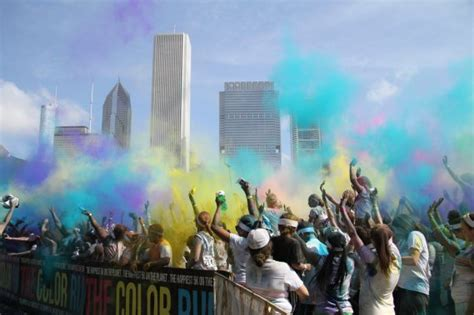 the color run chicago at the color run chicago tico