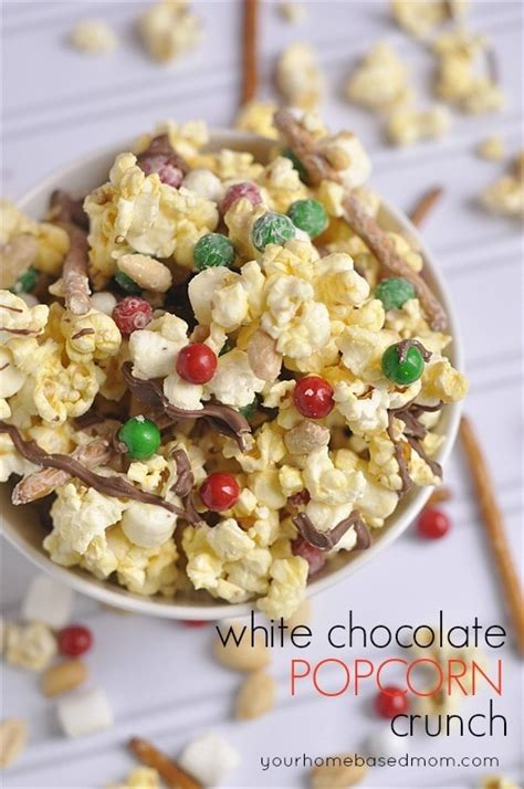 coco crunch white chocolate popcorn crunch your homehased mom