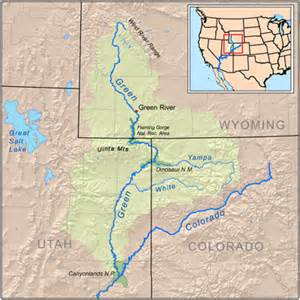 colorado river location on map green river energy corporation utah green river