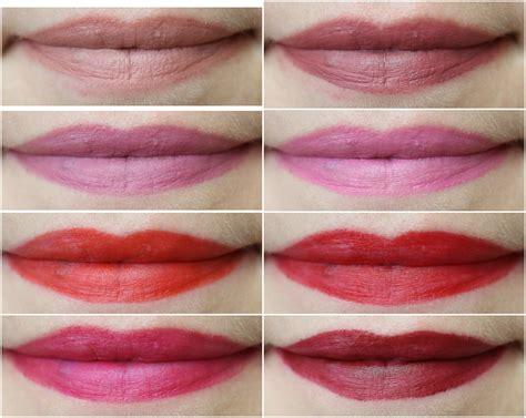 maybelline color swatches maybelline color sensational matte lipstick review