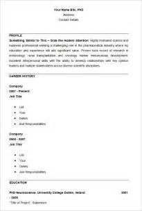 Basic Resume Exles For by Basic Resume Template Bestsellerbookdb