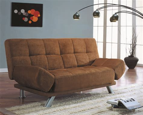 Black Futon by New Click Clack Futon Sofa Bed With Adjustable Arms In